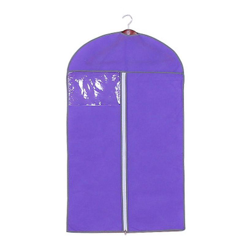 Garment prova de poeira saco 60x80 / 60x120cm Garment Blazer Suit Brasão Clothes Tampa saco de armazenamento Gabinete Zipper Pouch