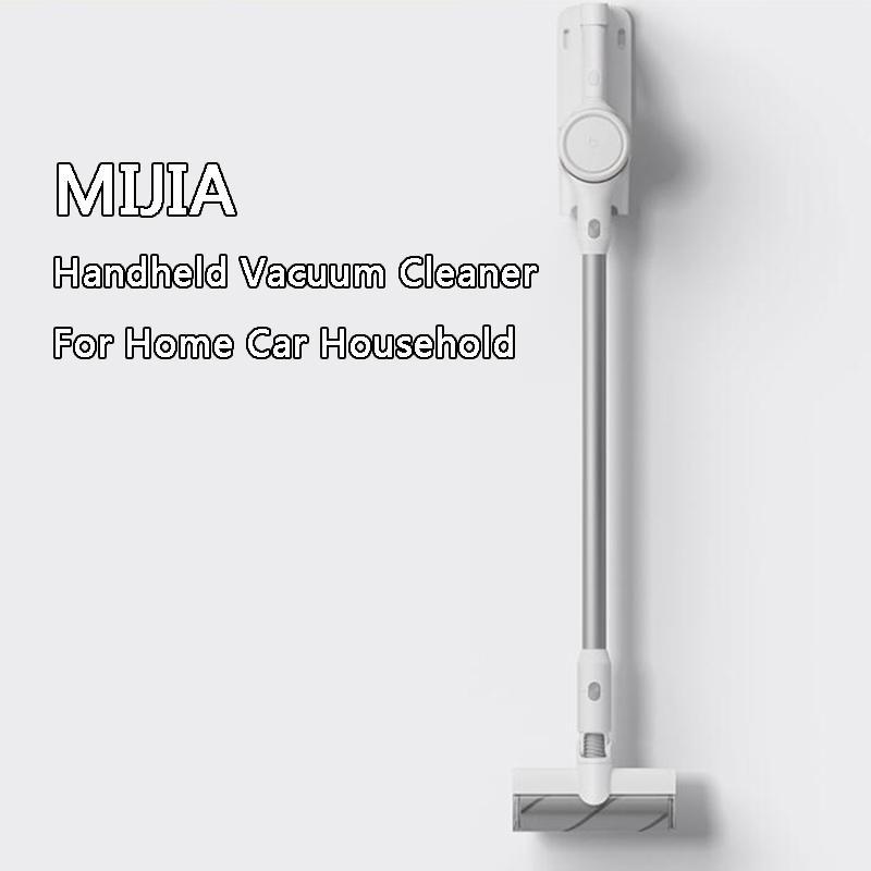 Youpin Mijia Handheld Aspirateur pour la maison de voiture sans fil Balayer Ménage 23000Pa Cyclone d'aspiration Brosse multifonctions