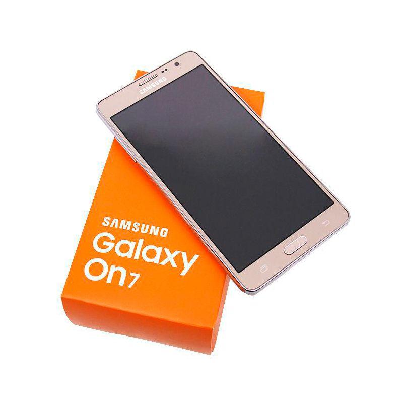 الأصل سامسونج غالاكسي On7 G6000 4G LTE المحمول رباعية النواة 8GB / 16GB 5.5 بوصة بلوتوث WIFI 13.0MP مفتوح تجديد الهاتف الذكي