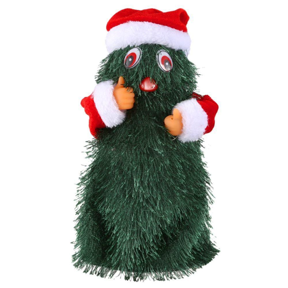 2019 New Santa Claus Musical Christmas Toy Dancing Singing Christmas Tree Doll Home Decoration Xmas New Years for Kid Children