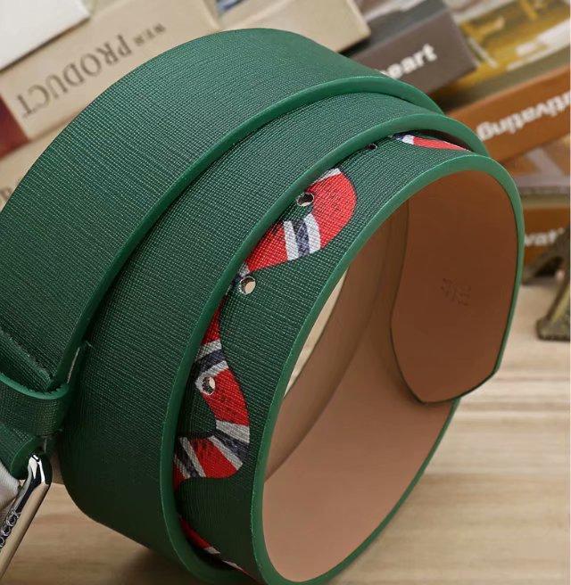 2020 neue Art und Weise Mens-Geschäfts-Gürtel Snake Schwarz und Grün Ceinture Automatische Buckle Echtes Leder Gürtel für Männer Taillengürtel für Frauen