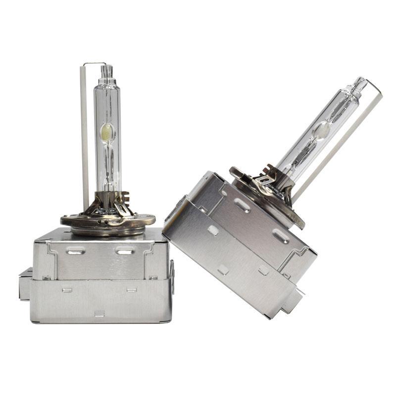 2PCS D1S D2S D3S D4S 35W 크세논 전구 키트 금속 브래킷 모든 철강 자동차 헤드 라이트 HID 램프 4300K 6000K