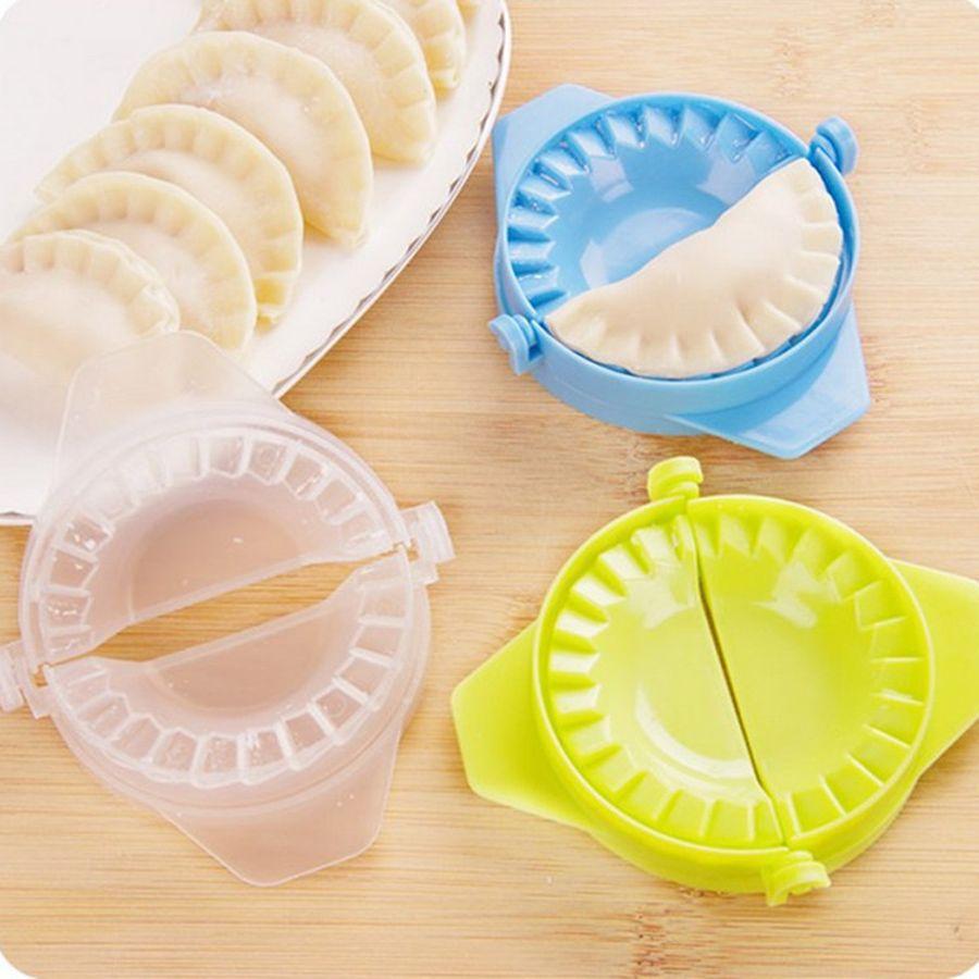 Оптовая творческие Кухонные аксессуары DIY клецки инструменты клецки Jiaozi чайник устройство легко клецки плесень клипы Cozinha DH0615 T03
