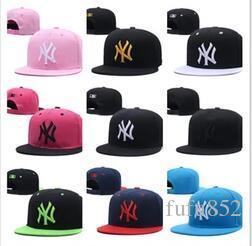 2019 новый мужской женский баскетбол Snapback кости Бейсбол Snapbacks бренд Нью-Йорк футбол шляпы мужские плоские шапки регулируемая крышка спортивная шляпа заказ смешивания