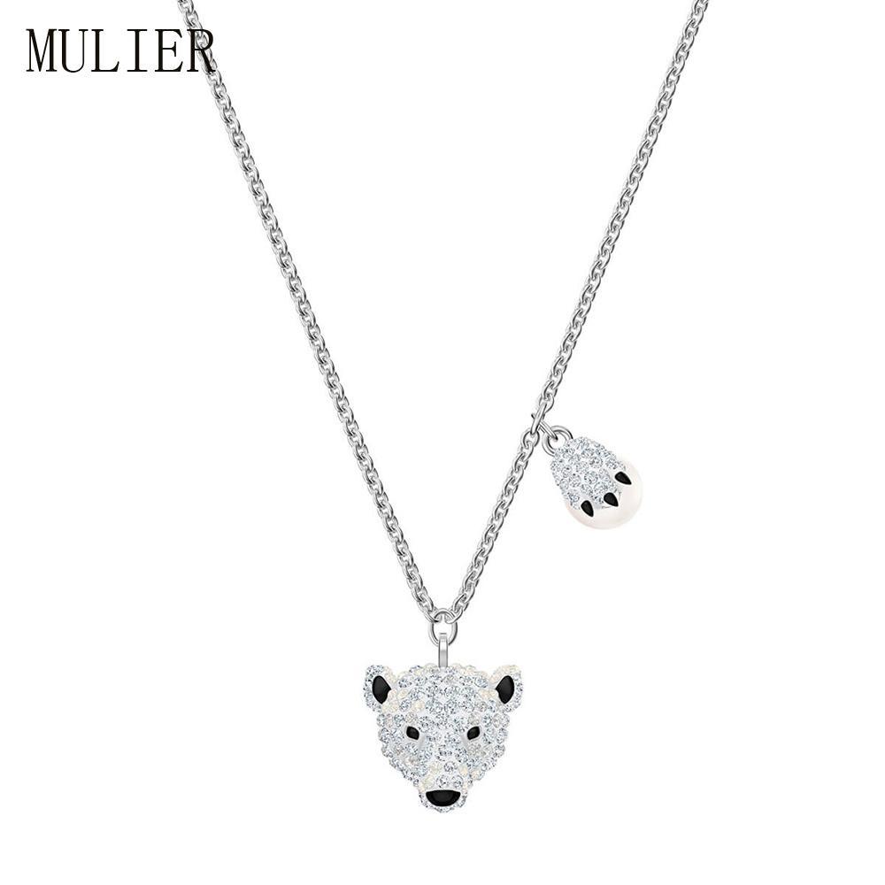 SWA 19 Urso Polar Sparkling MULIER e garra de urso Pingente POLAR bestiário série 5499633 Essentials femininas livre porte