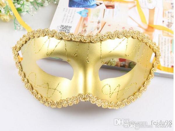 Nova senhora sexy plástico máscara de Páscoa partido Euro Americana 20pcs sexy máscara / lot L246