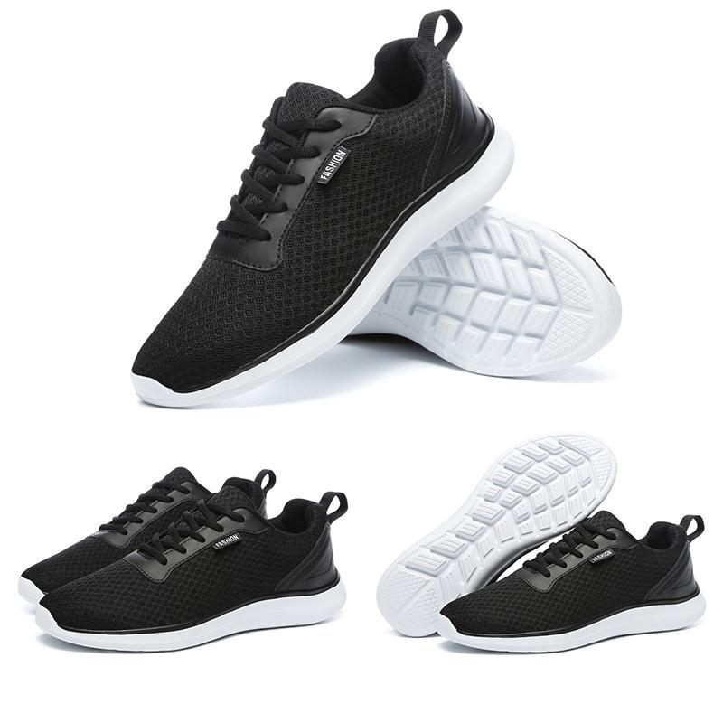 koşu ayakkabıları 2020 Moda erkek Siyah Gri Beyaz Run spor eğitici spor ayakkabısı Yaz Nefes Ev yapımı marka Çin büyüklüğü 39-44 Made