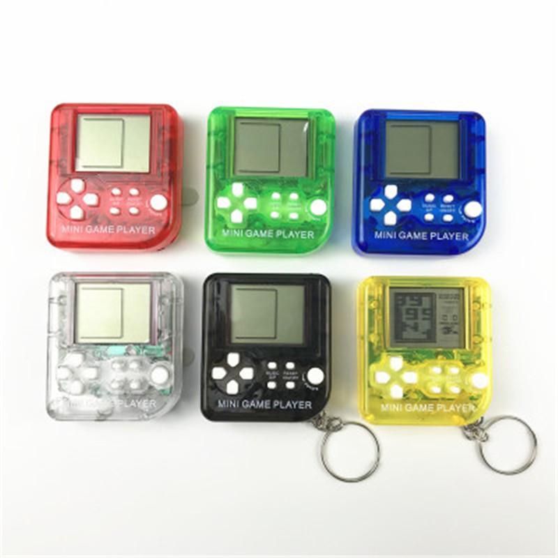 pequeno mini crianças Ultra Tetris Jogo de jogos portátil jogadores de console de LCD crianças clássicos brinquedos educativos eletrônicos