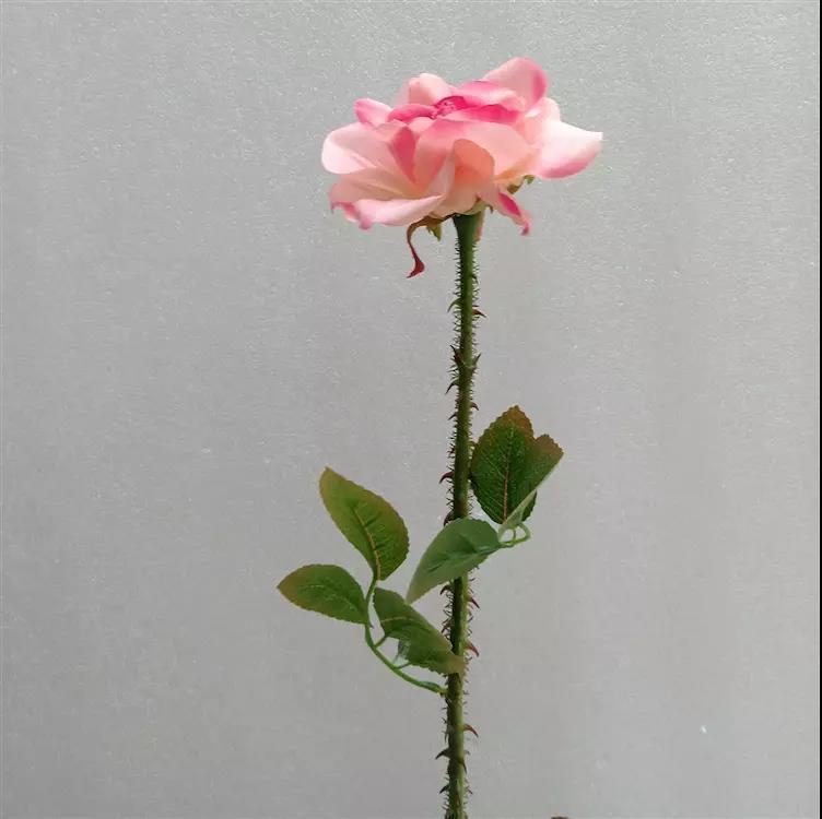 La venta de alto grado se levantó con espinas Día Rose Room New Living Valentín Adornos falso decoración del hogar