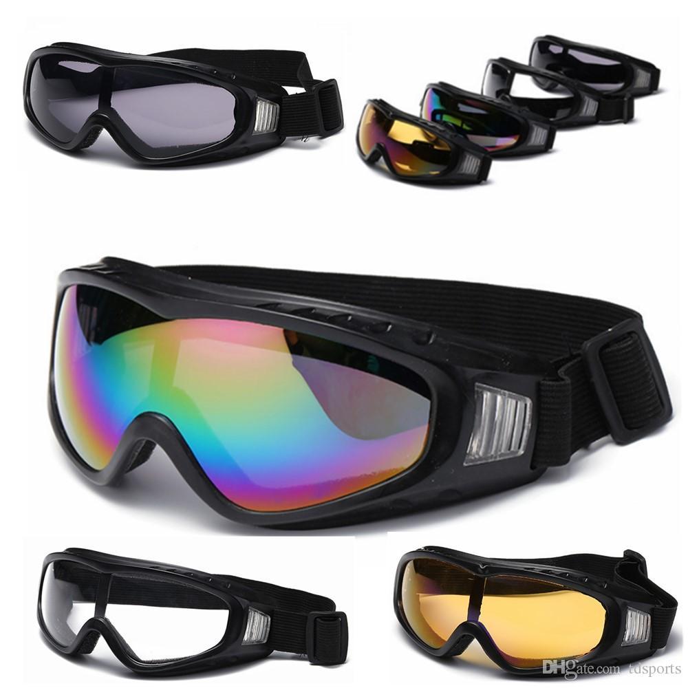 Équipement de protection pour le vélo Lunettes de cyclisme en plein air, lunettes de moto, lunettes de ski, lunettes de protection pour hommes et femmes