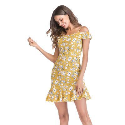 Compre 2019 Mujeres Impresas Vestidos Casuales De Moda 2019 Recién Llegado Para Mujer Sexy Vestidos De Fiesta Corto Colorido Para Mujer Falda Talla S