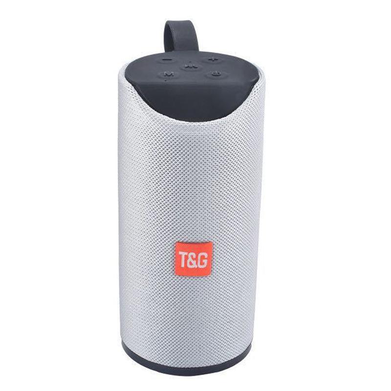 Protable TG113 Hoparlör Bluetooth Kablosuz Hoparlörler Subwoofer Ahizesiz Arama Profil Stereo Bass Destek TF USB Kart AUX Line In