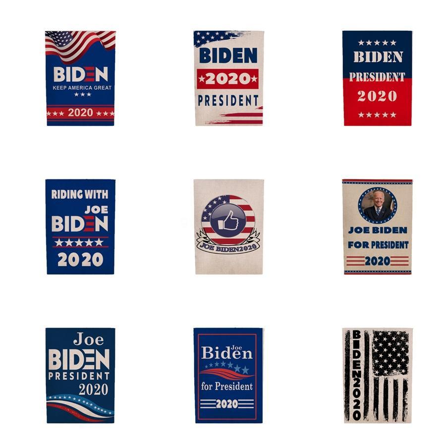 Biden 2020 Bandeira Donald Bandeira Biden alta qualidade Mantenha América Grande Donald para o presidente Campanha Bandeira 45 * 30cm Jardim Bandeira 12 estilos L38F # 79