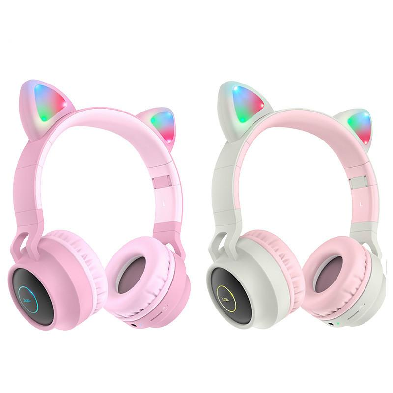 Led Cat Ear Bluetooth Headphones For Kids Girl Pink Cute Wireless Headsets Cartoon Stereo Headband Earphones Tf Slot Aux Mic For Phone Wifi Headphones Wireless Sport Headphones From Ecsale007 17 96 Dhgate Com