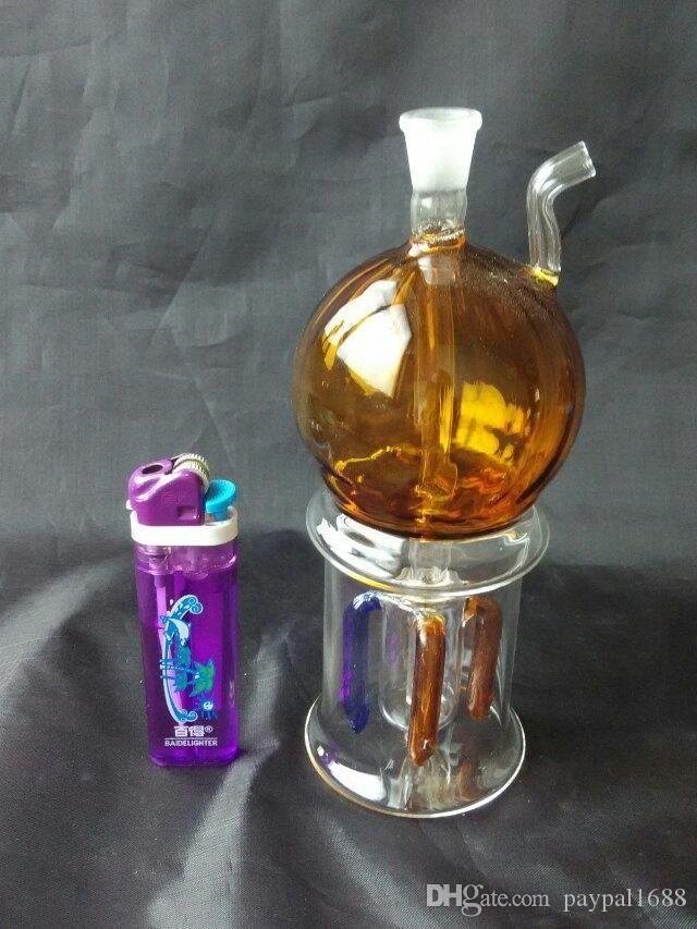 Renk top hortumları cam bonglar aksesuarları, Cam Sigara Borular renkli mini çoklu renkler El Borular En Kaşık glas
