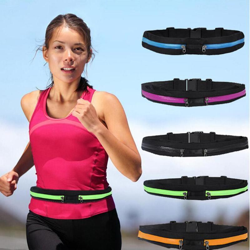 Waterproof Waist Bag For iPhone X 8 7 6 6S Plus Samsung S8 S9 Plus Note 8 Outdoor Running Sport Fanny Pack Pouch Water Resistant Phone Case