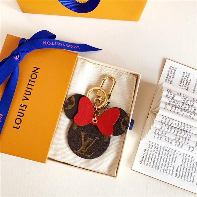 Designer di lusso Chain Letter chiave semplice progettista regalo Uomo Donna Portachiavi Metal Party Lettera marchio Car Key Portachiavi con box