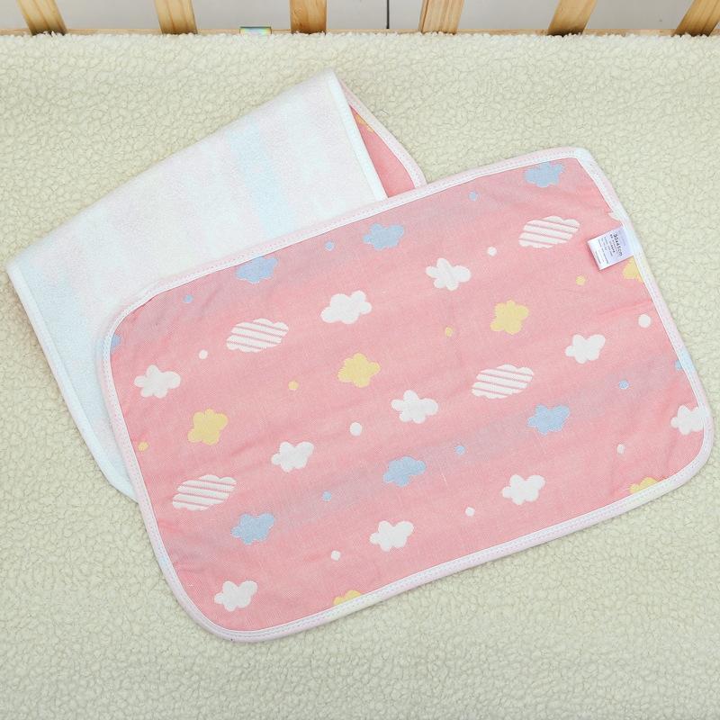 아기 패드 아기 방수 통기성 신생아 양면 누설 방지 대형 기저귀 기저귀 패드를 거즈