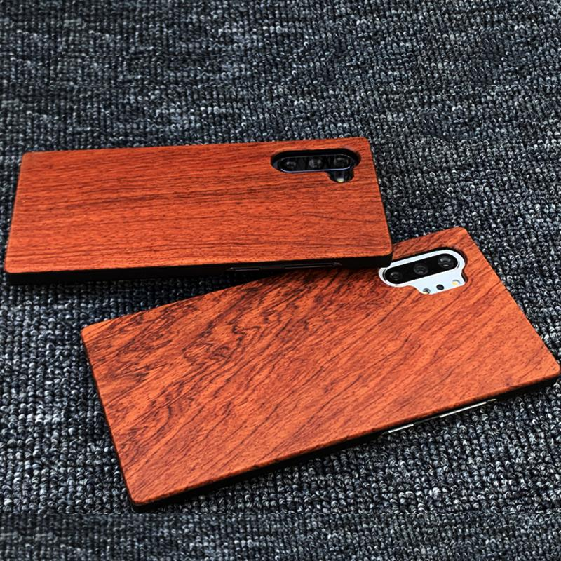 Handmade Custom Bamboo Wood Case For Samsung Note 10 plus s20 ultra s10 5g note 9 iphone 11 PRO XS XR Anti-knock