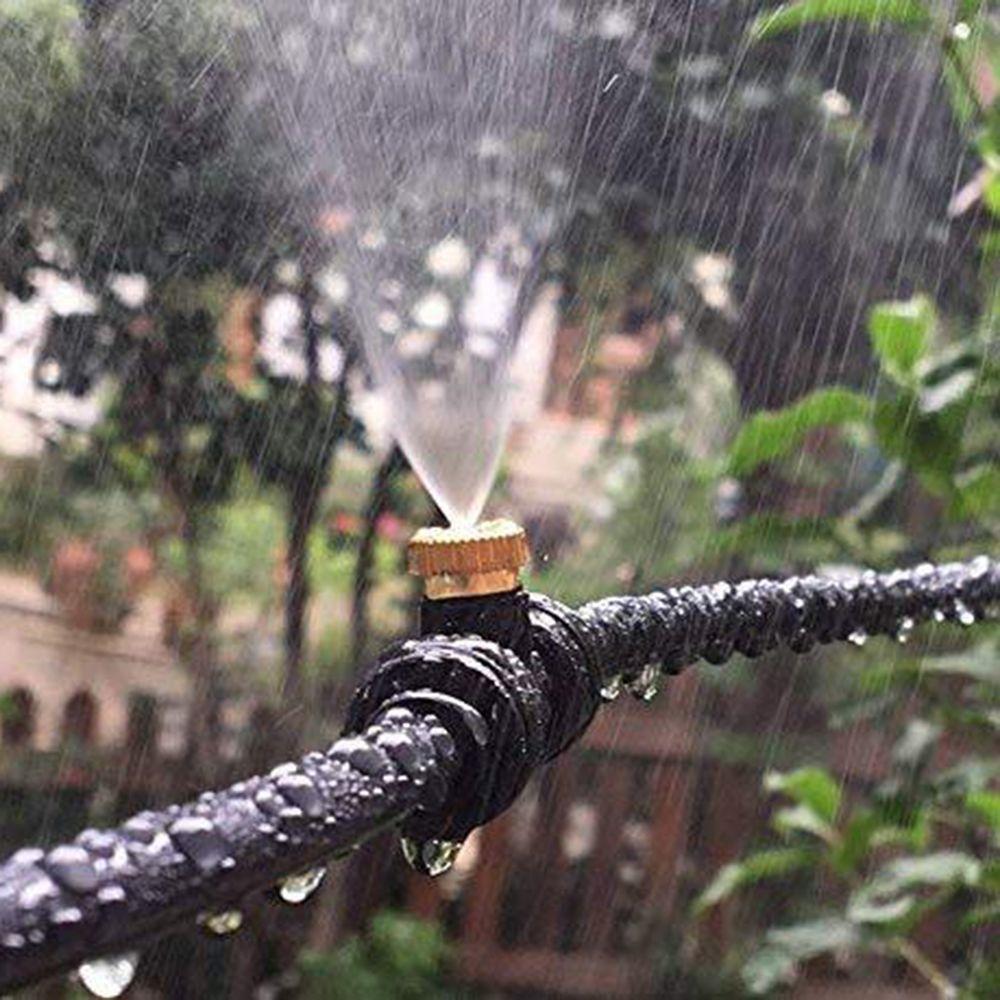 Brass Low Pressure Water Fog Mist Nozzle Misting Spray Sprinkler Head Cool Lots