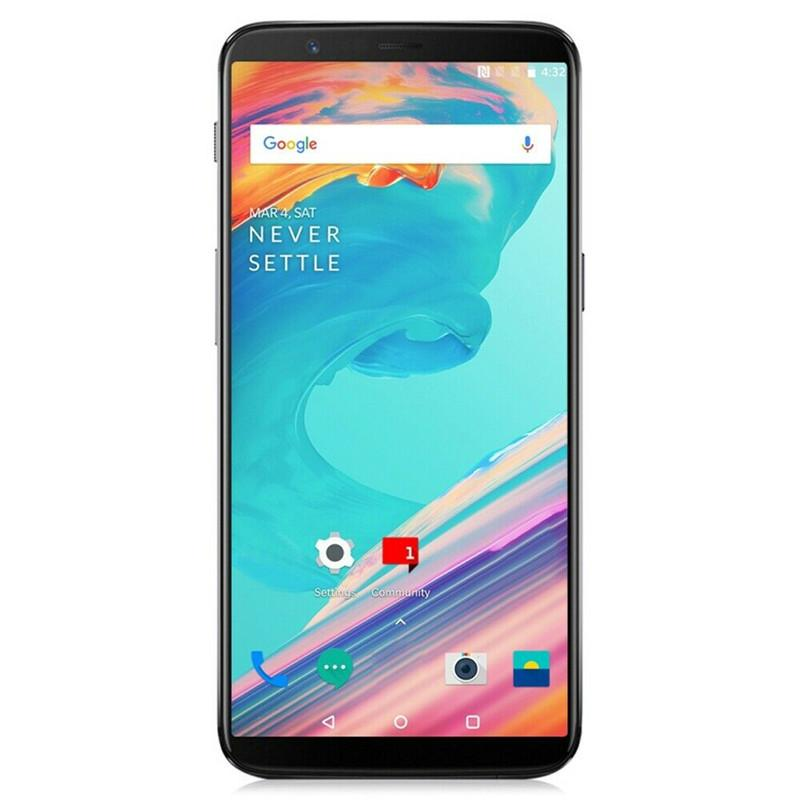 """Original OnePlus 5T 4G LTE Mobile Phone 8GB RAM 128GB ROM Snapdragon 835 Octa Core Android 6.01"""" Full Screen 20.0MP NFC Face ID Cell Phone"""