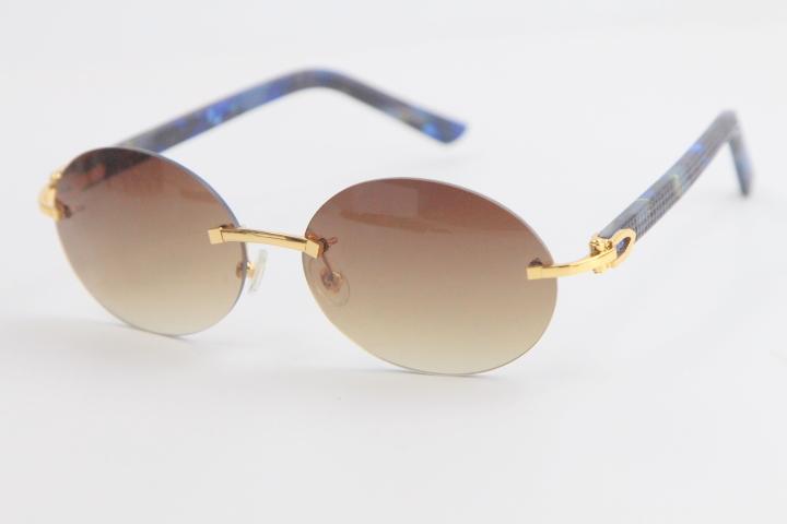 NEW 판매 금속 무테는 상자 타원형 선글라스 판자 선글라스 남성 선글라스 라운드 남성 태양 안경 남성과 여성의 격자 무늬