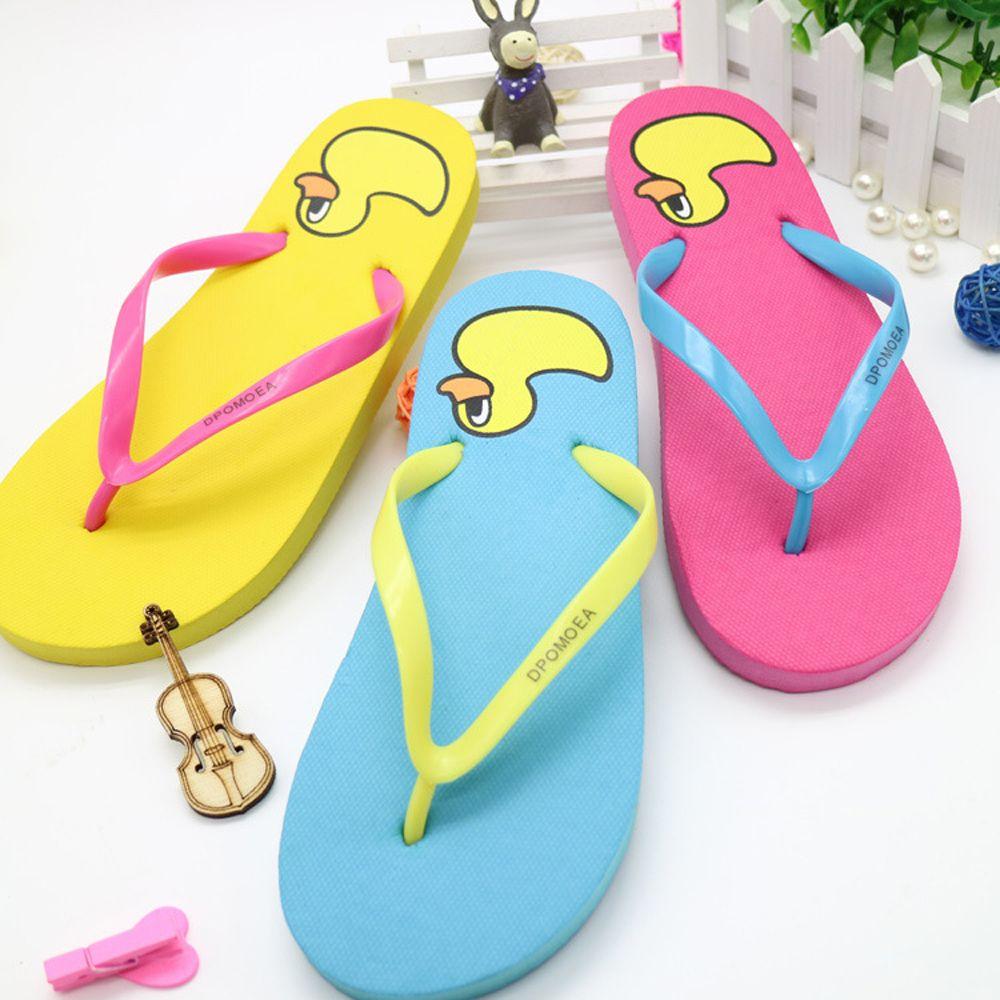 Été Femmes Flip Flops Casual Chaussures Mode Doux loisirs Sandales Plage Mignon pantoufle intérieur extérieur des sandales