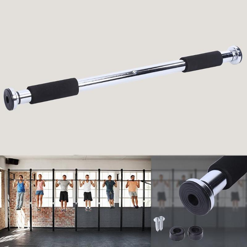 Puerta horizontal bar interior del hogar pared de la puerta de arrastre hasta marco dispositivo de cojinete barra horizontal de la aptitud tubo equipo 200 kg