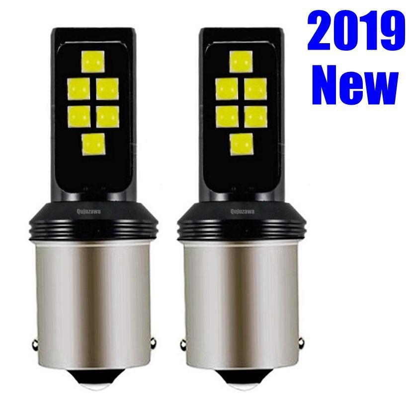 2шт 1156 BA15s 7506 P21W Cree чипы LED сигнал поворота автомобиля стоп-сигнал задний фонарь авто задний обратный лампа белый красный желтый янтарь