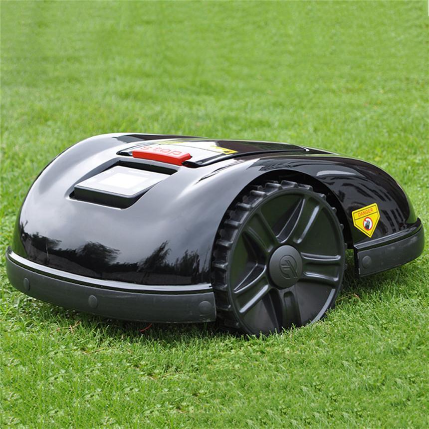 레인 센서, 잔디 깎기 일정, 자동 충전 시스템, 도난 방지 기능과 방수와 와이파이 제어 최신 스마트 잔디 깎기 로봇 잔디 깎는 기계