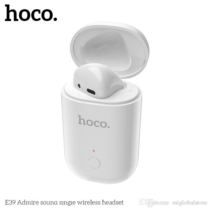 Hoco E39 Single Wireless Bluetooth Earphones With Mic For Iphone Sumsung Xiaomi Huawei Lenovo Htc Lg Tcl Ect Headsets Phone Wireless Headset Cell Phone From Miglobalstore 12 28 Dhgate Com