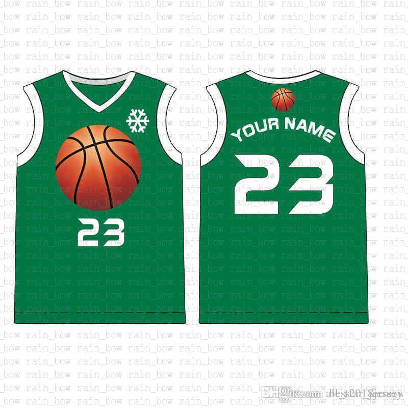 2019 Yeni Özel Basketbol Jersey Yüksek kaliteli ücretsiz gönderim Nakış Logolar% 100 Dikişli üst satış A1587417 Mens