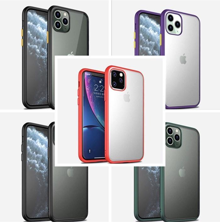 Для iPhone 11 Pro Max Phone Case Clear TPU PC задняя крышка смартфона Защитные чехлы DHL Free