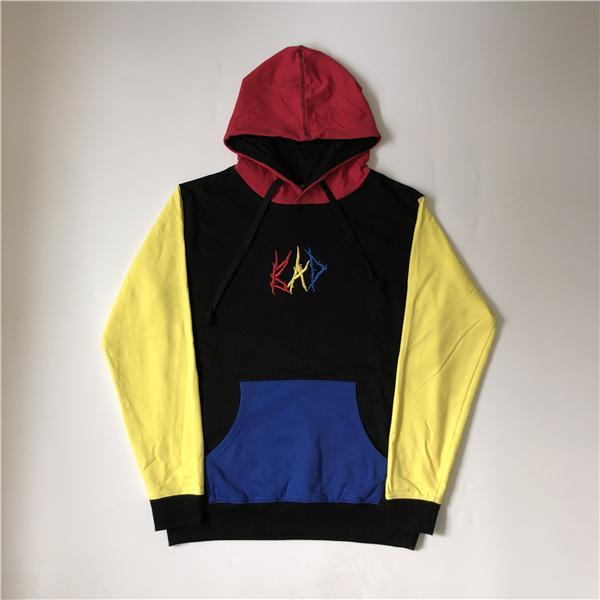 Sweats à capuche pour hommes Sweatshirts Mens Designer Couture Couleur Bad Sweat à capuche XXXTentiCion High Street Mode Marque Sweat-shirt en vrac S-XL
