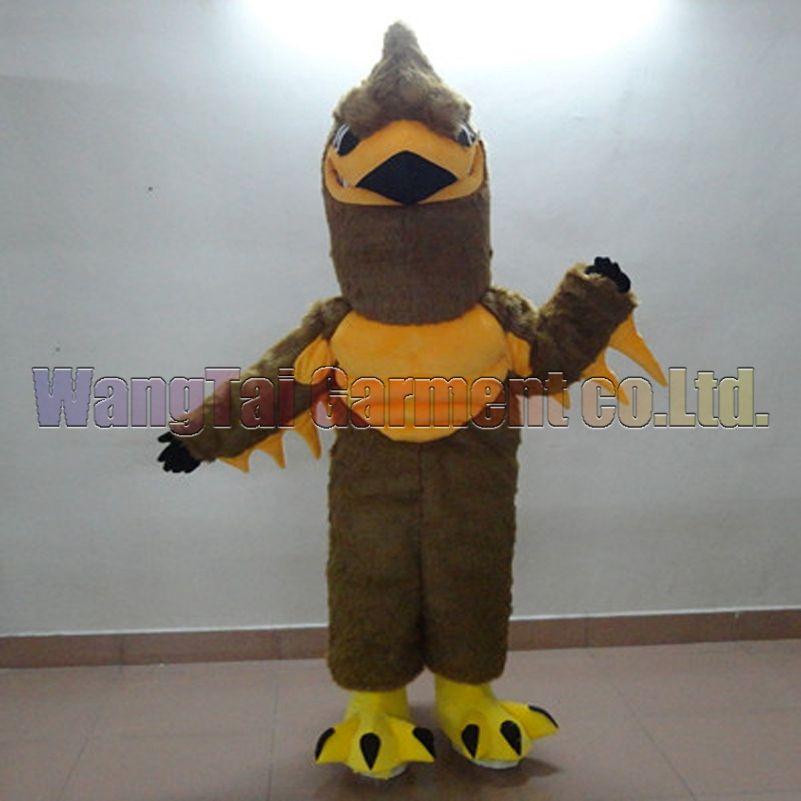 Falcon Vogel Kostüm-freies Verschiffen Erwachsene Größe, Falke-Vogel-Maskottchenklage Plüschspielzeug Karneval Anime-Film klassischen Cartoon-Maskottchen Werksverkauf