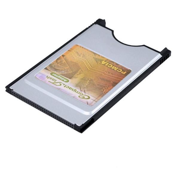 Laptop PCMCIA Compact Flash PC Adaptador de lector de tarjeta CF