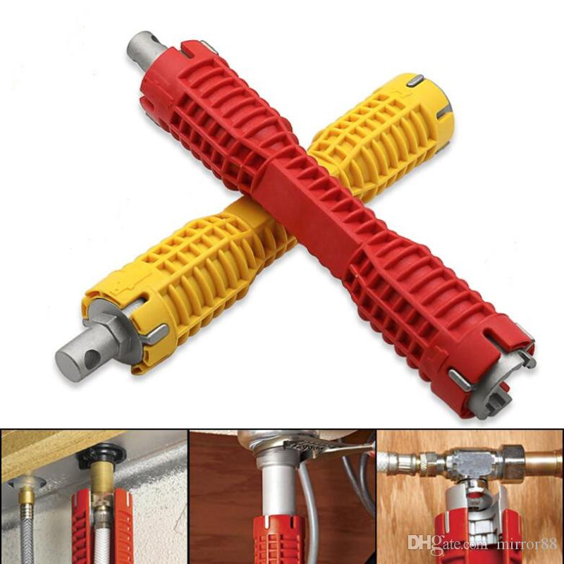 Multi Function Water Pipe Double End Wrench Double Head Sink Installer Wrench Faucet Basin Ball Valve Installation