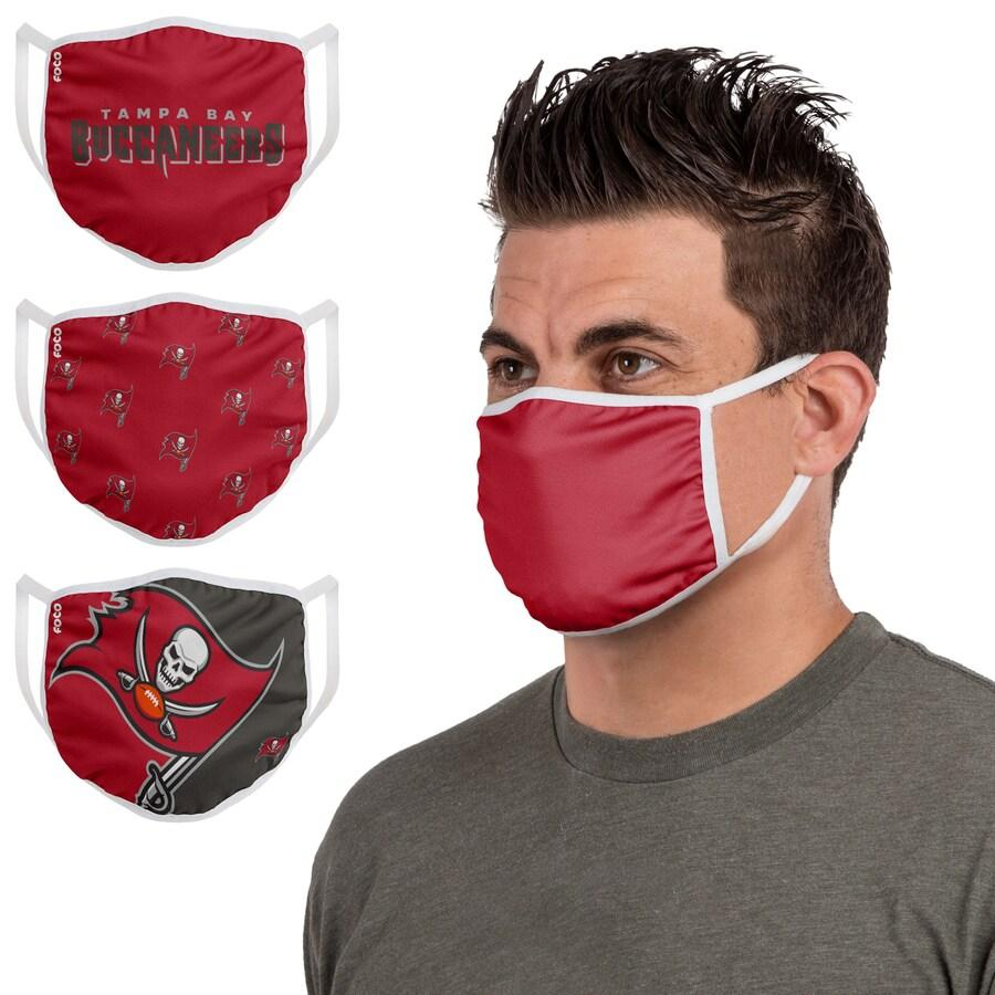 Seattle PM 2.5 Free DHL Seahawks Chicago FOCO Bears New York Face Mask Giants Denver Covering 3-Pack Broncos Buffalo