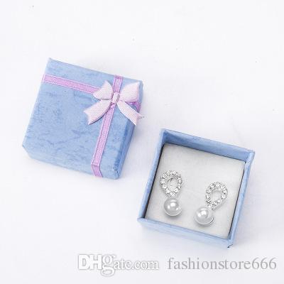 Mini Velvet Jewllery Gift Box for Rings and Small Earrings Pendant Necklace MJSI