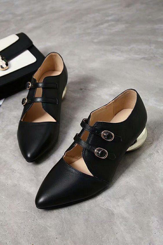 моды Остроконечные высокого качества Single Flat Повседневная обувь Крытый Скользкий Трусы Красный Зеленый плоские туфли корейский стиль
