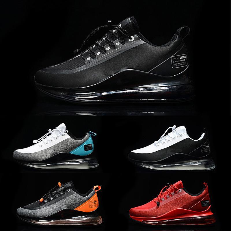 NIKE AIR MAX 720 720S 720C 2020 Toptan Programı Yeni 72C Erkekler için Sneaker Koşu Ayakkabıları Spor Euro Boyutu 36-45 Ücretsiz Kargo 5 Renkler Beyaz siyah kırmızı