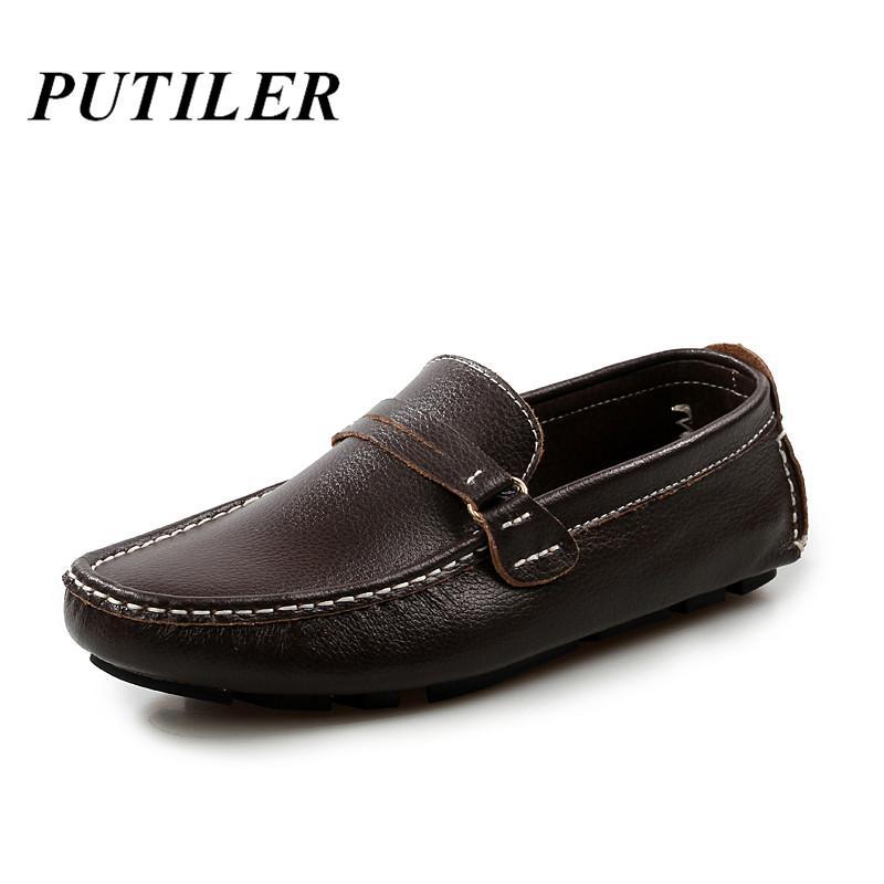 2020 الإيطالية رجل احذية رسمية عارضة جلد طبيعي الخف للرجال متعطل أزياء اليدوية مصمم أحذية Skor