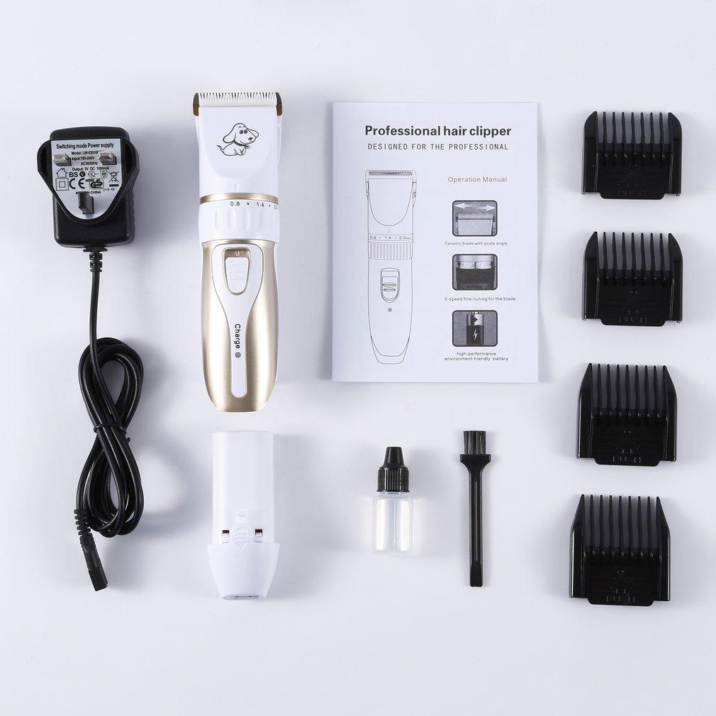 High-power Professional Pet Clippers Dog Shaver Charge Electric Dog Hair Cutter Dogs Hair Trimmer Machine Pet Supplies
