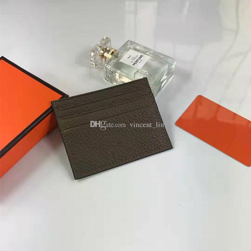 Real con cartera de cartas en excelente calidad exterior dentro de bolso y soporte Unisex para caja hecha de cuero lvudn jnjog
