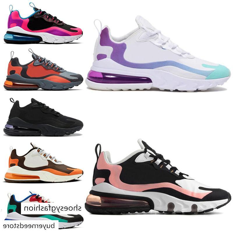 Bleached Coral Dusk Purple react running shoes for Men Women Fashion BAUHAUS RIGHT Travis Scotts Triple Black Mens 2020 trainers sneakers