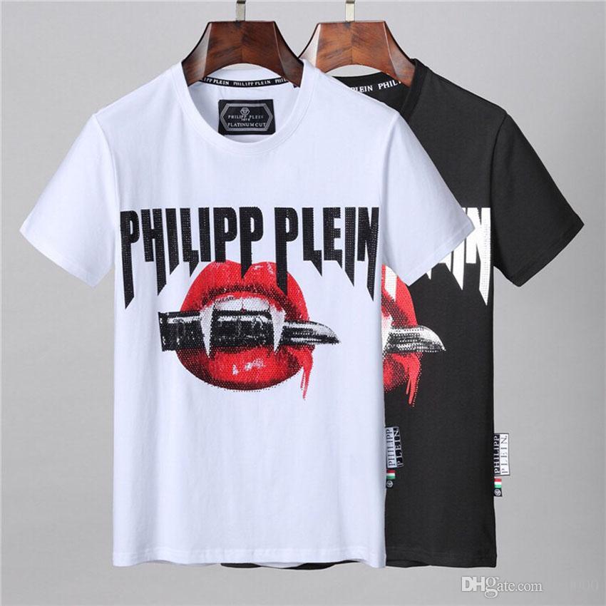 2020ss primavera e l'estate nuovo cotone di alta qualità di stampa manica corta rotonda pannello collo T-shirt Dimensione: m-L-XL-XXL-XXXL Colore: nero bianco q520