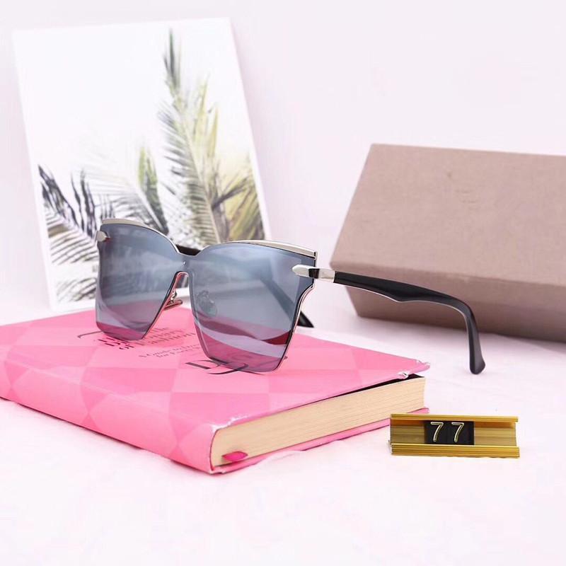 D77 gafas de sol calientes de las mujeres marca de diseño de los hombres gafas de sol de revestimiento oculos Moda Retro Gafas de Sol Gafas de sol de marca