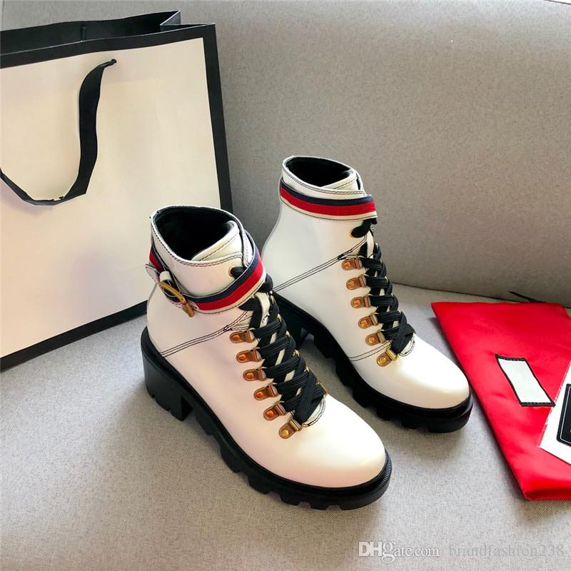 Zapatos de mujer de lujo de alta calidad Zapatos de mujer de diseñador de lujo Superstars Botas de marca Botas de media piel de cuero genuino Zapatos de vestir de mujer