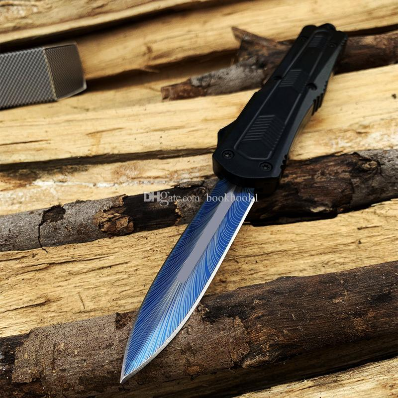 MT A16 Single Combat couteau automatique 440 lame en aluminium poignée tactique camping couteaux automatiques A07 A161 couteaux pliants