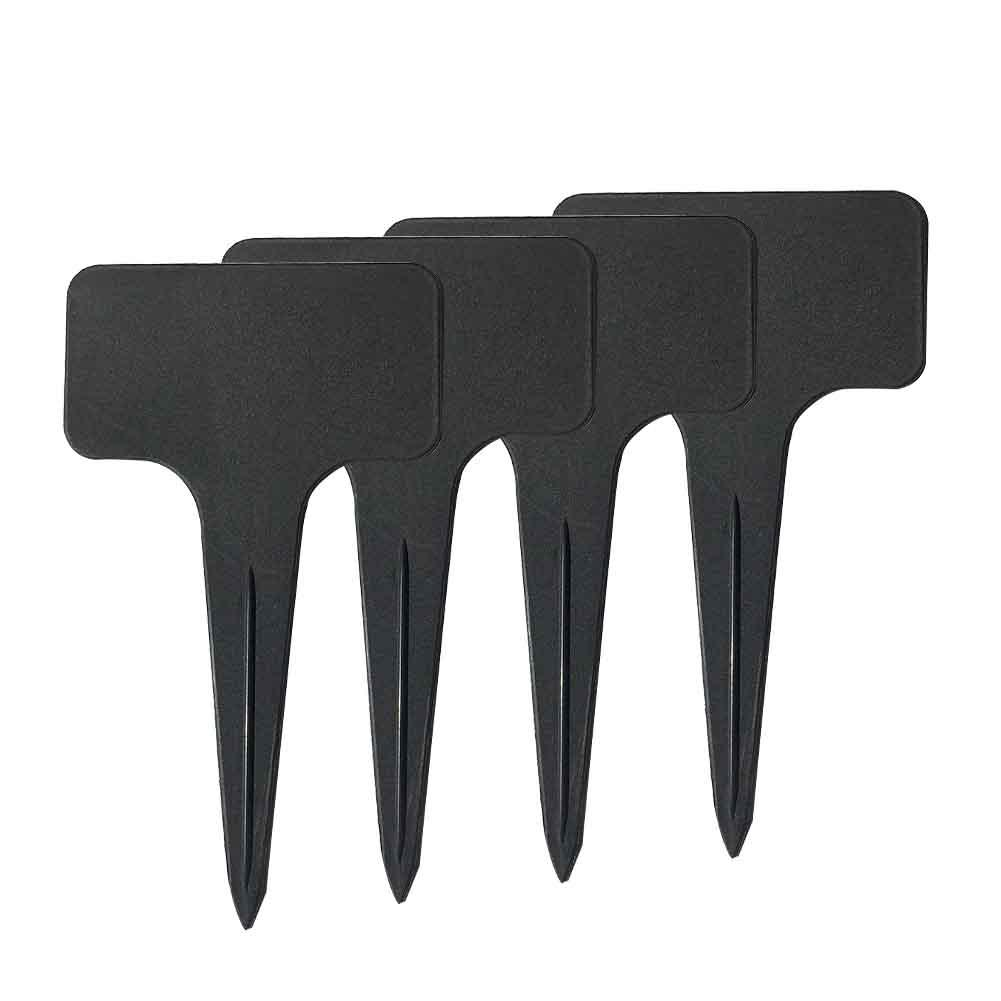 UV Resistant Plant Label Writing Gardening PVC T shape Tools 100pcs Tags Marker
